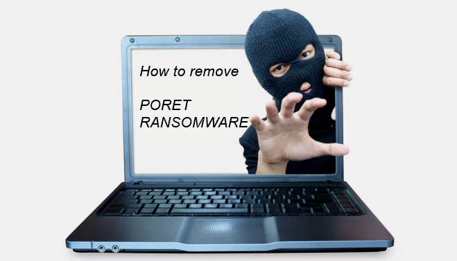 How to remove Poret ransomware