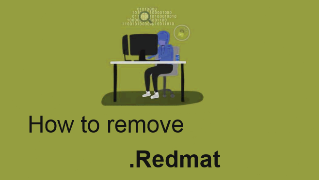 how to remove .redmat