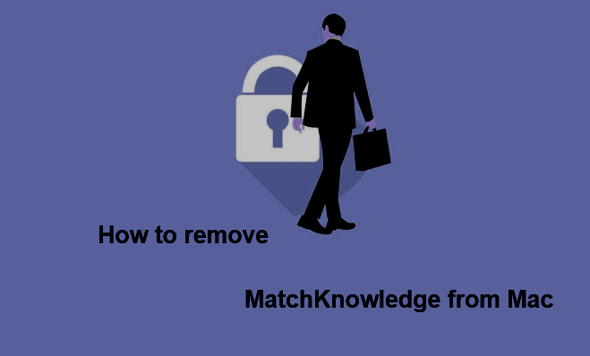 How to remove MatchKnowledge from  Mac