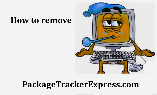 How to remove PackageTrackerExpress