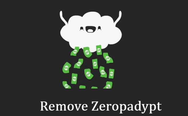 How to remove Zeropadypt