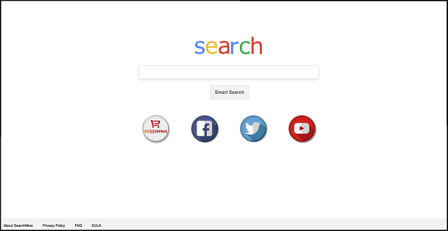 delete Search Mine virus search engine (https://searchmine.net/search…)