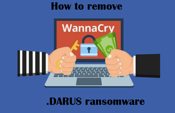 Como remover o DARUS ransomware
