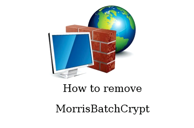 Como remover o MorrisBatchCrypt