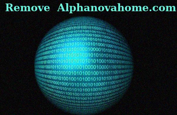 How to remove Alphanovahome.com