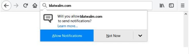 How to remove Blatwalm.com ads