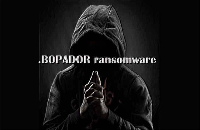 Cómo eliminar el BOPADOR ransomware
