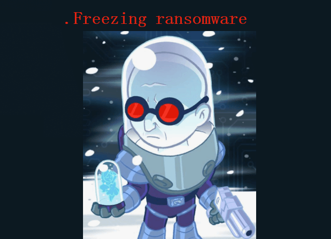 How to remove Freezing ransomware