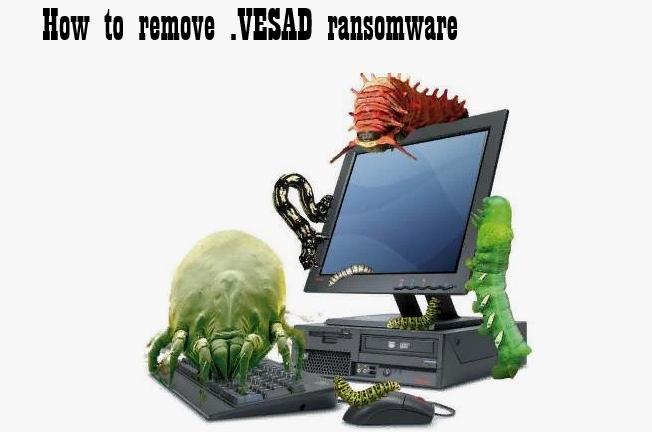 How to remove VESAD ransomware