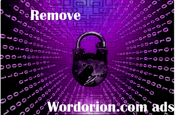 How to remove Wordorion.com ads