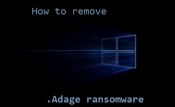 How to remove .Adage ransomware