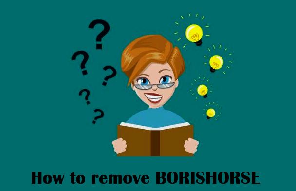 How to remove BORISHORSE