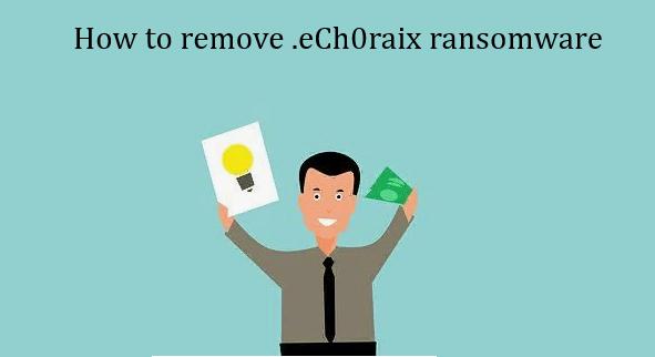 How to remove eCh0raix rsnsomware
