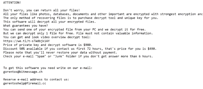 How to remove GENO ransomware