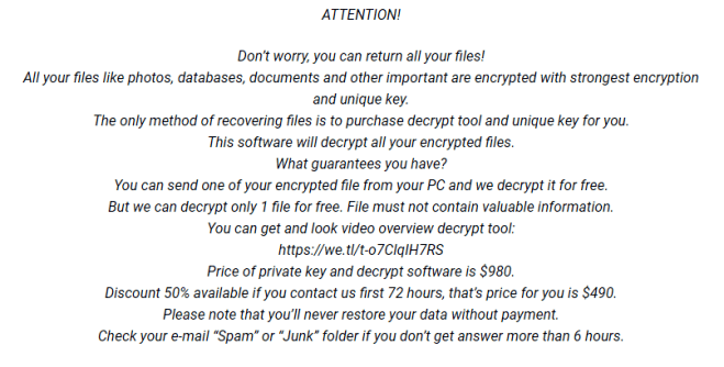 How to remove Masodas ransomware
