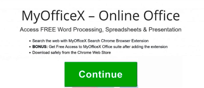 How to remove MyOfficeX Search