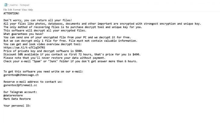 How to remove ZATROV ransomware