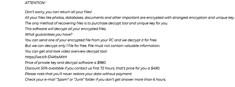 How to remove GERO ransomware
