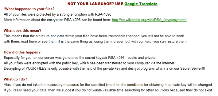 How to remove TeslaCrypt ransomware