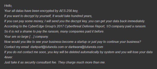 How to remove AES-Matrix ransomware