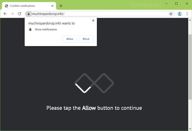 Delete https://muchinspardorop.info, qahy.muchinspardorop.info, z61l.muchinspardorop.info, cbgv.muchinspardorop.info, w1u3.muchinspardorop.info, jkvl.muchinspardorop.info, etc. virus notifications