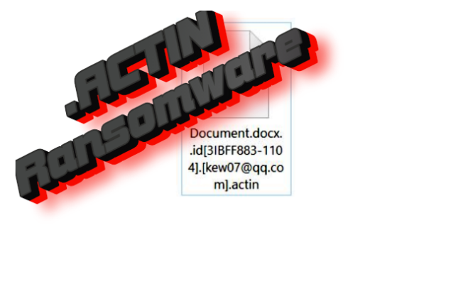 How to remove Actin ransomware