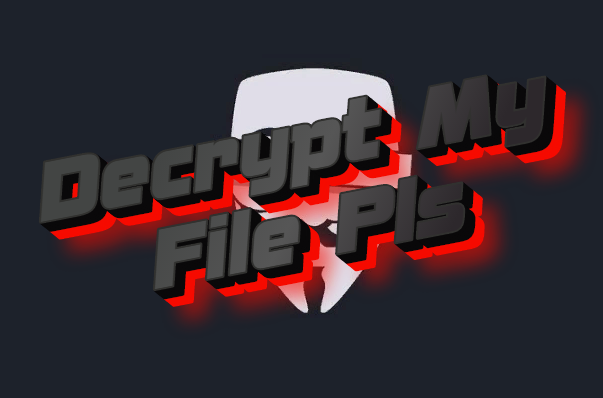 How to remove Decrypt My File Pls