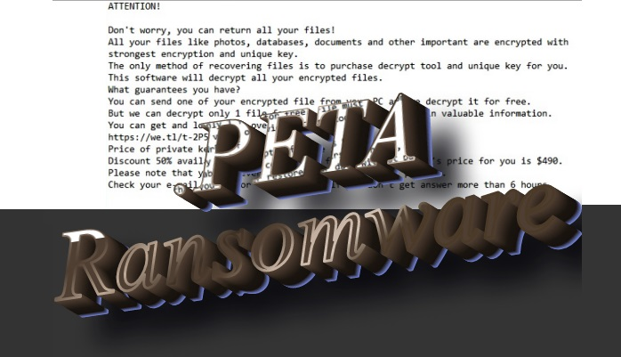 How to remove Peta ransomware