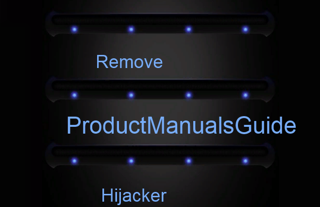 How to remove ProductManualsGuide