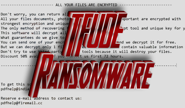 How to remove TFUDE ransomware