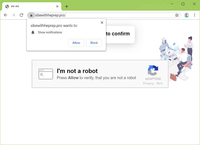 Delete https://sibewithheprep.pro, hbqk.sibewithheprep.pro, bg9a.sibewithheprep.pro, lwvu.sibewithheprep.pro, k1b6.sibewithheprep.pro, ao14.sibewithheprep.pro, etc. virus notifications