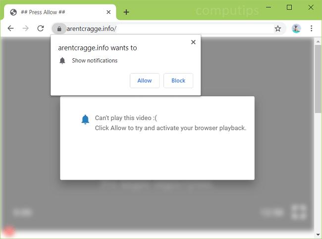 Delete arentcragge.info, v7xv.arentcragge.info, fyeo.arentcragge.info, yx0m.arentcragge.info, uzcj.arentcragge.info, etc. virus notifications