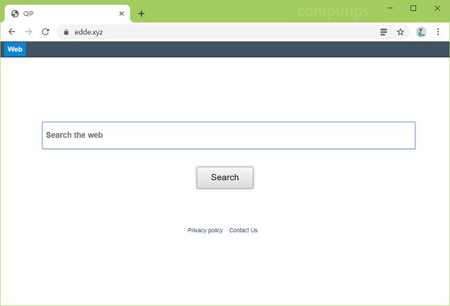 delete https://www.Edde.xyz/ virus