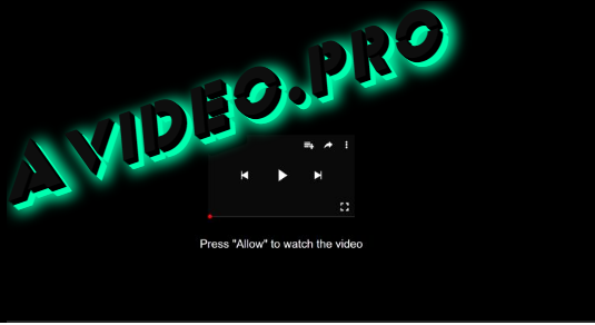 How to remove Avideo.pro ads