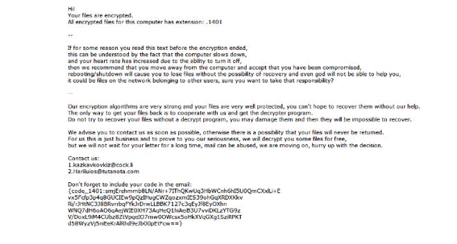 How to remove Kazkavkovkiz ransomware