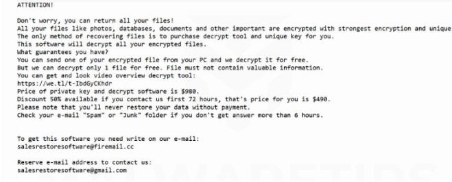 How to remove NAKW ransomware