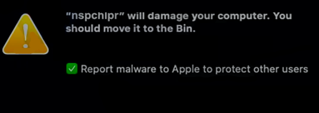 How to remove Nspchlpr from Mac