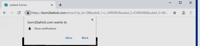 ¿Cómo eliminar Born2bahisk.com