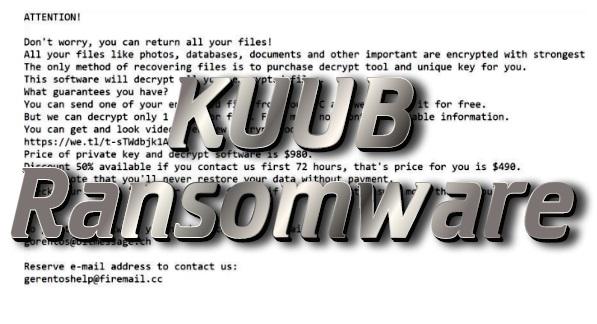 How to remove KUUB ransomware