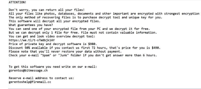 How to remove Mike ransomware