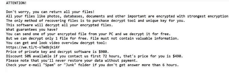 ¿Cómo eliminar Reco ransomware