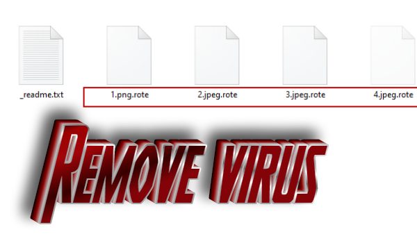 How to remove Rote ransomware