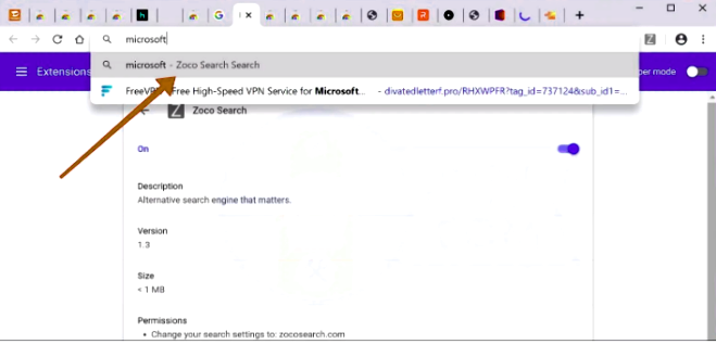 How to remove Zocosearch.com