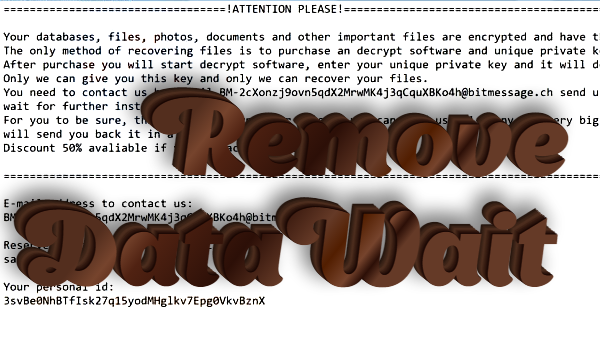 How to remove Datawait ransomware