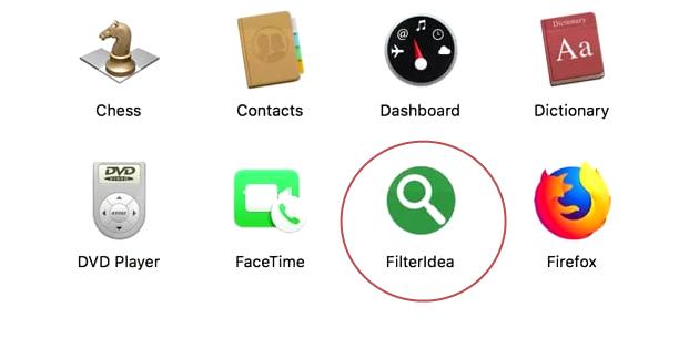 remove Filteridea adware from Mac