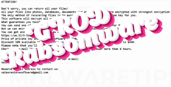 How to remove Grod ransomware