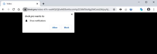como remover os anúncios pop-up DVOK.pro