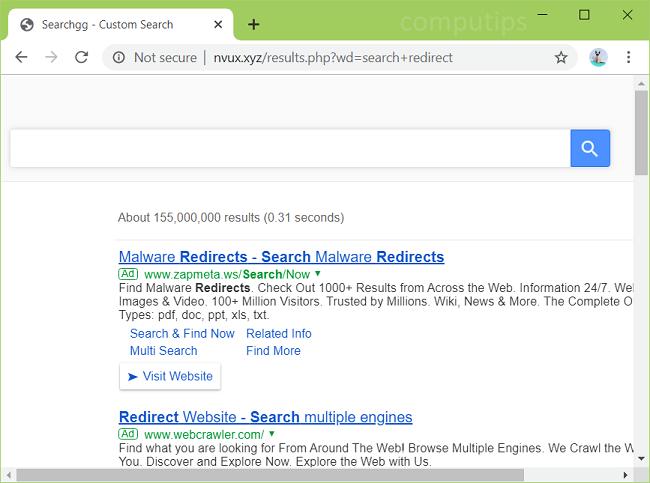 delete https://nvux.xyz/results.php?wd=... virus