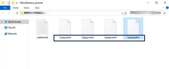 Nyton ransomware
