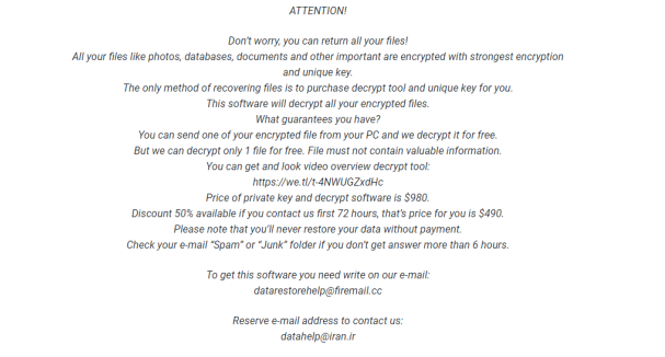 peek ransomware